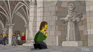 pray-before-statue-simpsons